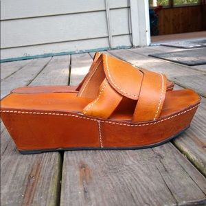 Vintage Robert Clergerie platform sandals
